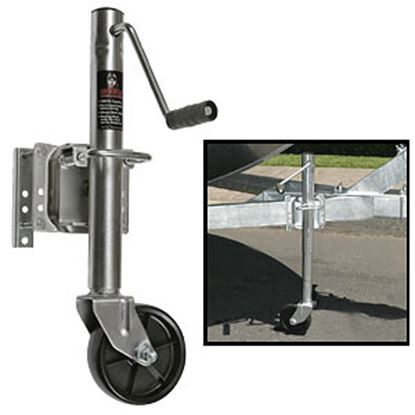 Picture of Husky Towing  1000 Lb A-Frame Round Sidewind Trailer Jack 30655 15-1561