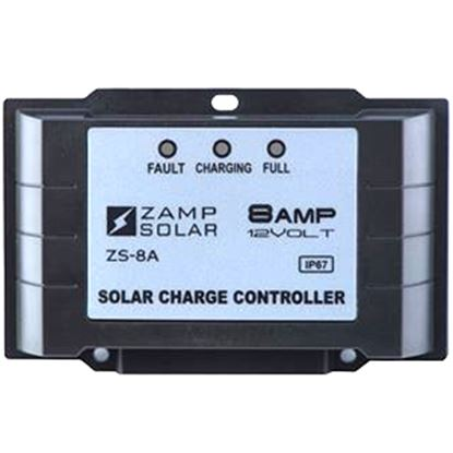 Picture of Zamp Solar  135W 8A Battery Charger Controller for Gel-Cell/AGM/Conventional Lead Acid WET/Calcium Batteries  15-1782