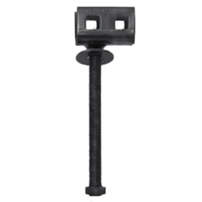 Picture of Tie Down Engineering  Black Painted Concrete Slab/ Double Head Threaded Ground Anchor 59115 16-0036