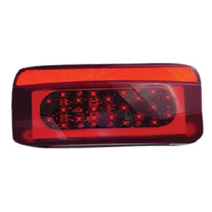 Picture of Command  Red Lens LED Tail Light Assembly Conversion Kit K-0026 18-0213