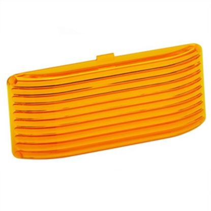 Picture of Bargman  Amber Snap-On Utility Light Lens For Bargman 78 Series 34-78-022 18-1012