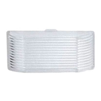 Picture of Green LongLife  Clear Rectangular Lens For Ming's Mark Porch Light 9090127 18-1453