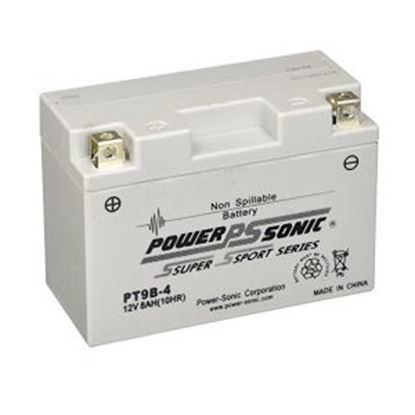 "Picture of Power-Sonic  12V 6""L X 2-3/4""W X 4-1/8""H Battery PT9B-4 18-1876"