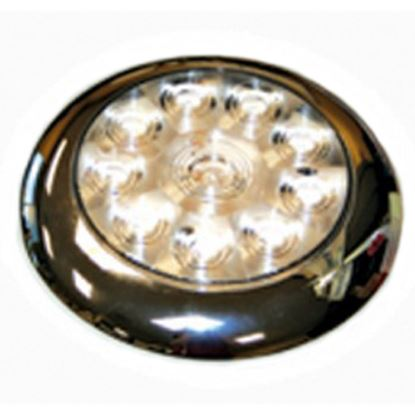 "Picture of Diamond Group  Single 5-5/8""Diax3/4""D White 0.14 Amps LED Utility Light DG52528VP 18-2239"
