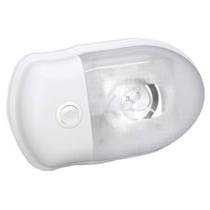 Picture of Bargman 76 Series Ceiling Mount Interior Light w/Switch 30-76-123 18-4027