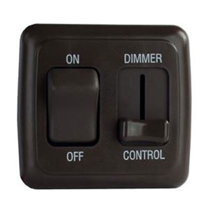 Picture of Diamond Group  Black 15A/ 12V Pulse Wave Modulation Dimmer Switch DGLD25VP 18-5032