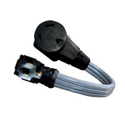 """Picture of Voltec  12"""" 15A/30A Power Cord Adapter 16-00568 19-0608"""