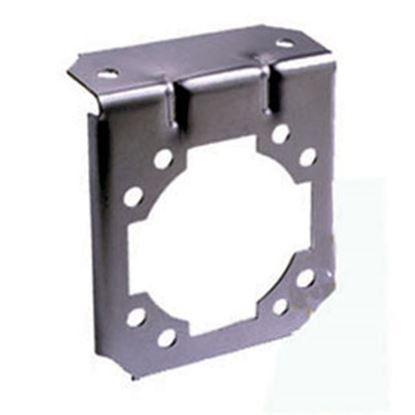 Picture of Bargman  7-Way Steel 90 Deg Bend Trailer Connector Bracket 50-77-070 19-1053