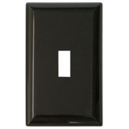 Picture of Diamond Group  Brown Single Speed Toggle Opening Switch Plate Cover DG52491VP 19-1360