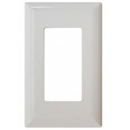 Picture of Diamond Group  White Single Speed Decor Opening Switch Plate Cover DG52494VP 19-1364