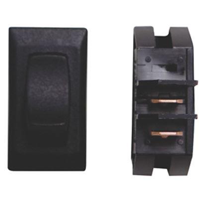 Picture of Diamond Group  1-Piece Black SPST Rocker Switch B1-18NC 19-2064
