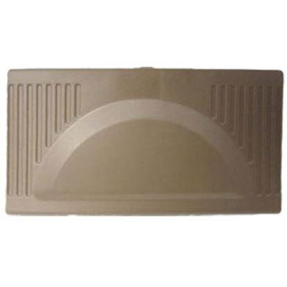 Picture of WFCO  Black Plastic Rectangular Flip Down Power Converter Door WF-8910-PDOB 19-2860