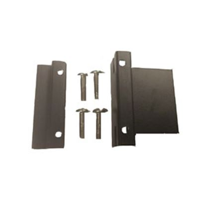 Picture of EZ Connector EZS7 Series Stainless Steel Angled Bumper Mount Trailer Connector Bracket S7-60F 19-2995