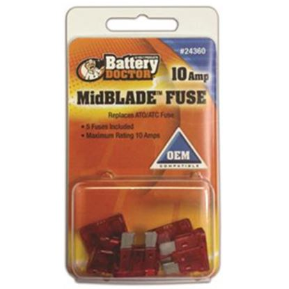 Picture of Battery Doctor  25A ATO/ ATC Clear Blade Fuse 24375 19-3566