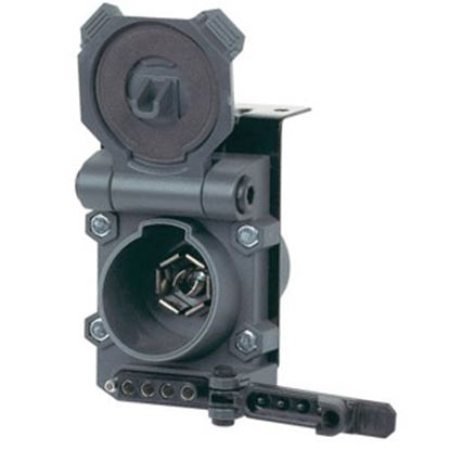 Picture of Husky Towing  Combo 7-Way RV /  5 & 4-Way Flat  Trailer End Connector 30498 19-3858