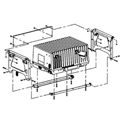 Picture of Cummins Onan  Underfloor Generator Mounting Kit for Camp Power & MicroQuiet A030X652 19-4075