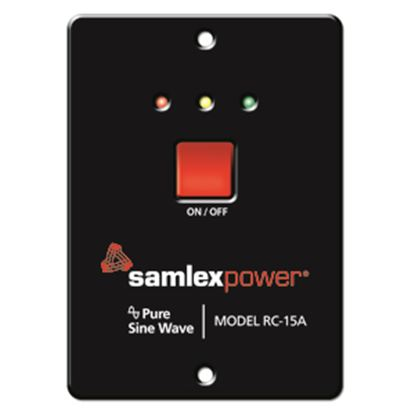 Picture of Samlex Solar  Inverter Remote Control for PST Series 600W/ 1000W w/15' Cable RC-15A 19-4739