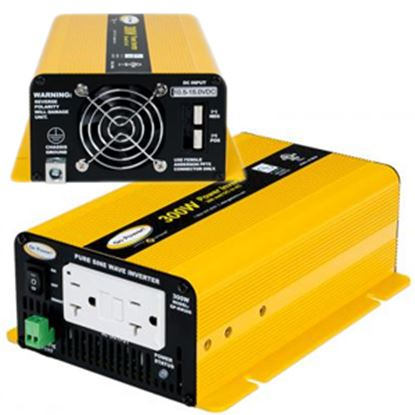 Picture of GoPower!  300W Pure Sine Wave Inverter GP-SW300-12 19-6601