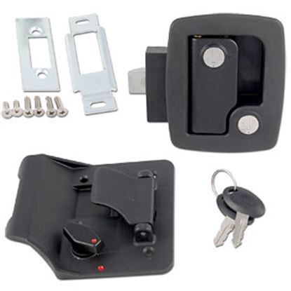 Picture of AP Products  Black Direct Replacement Door Latch Assembly 013-520 20-0626