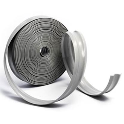 "Picture of Camco  Light Gray Vinyl 1"" W X 1000' L Trim Molding Insert 25333 20-0749"