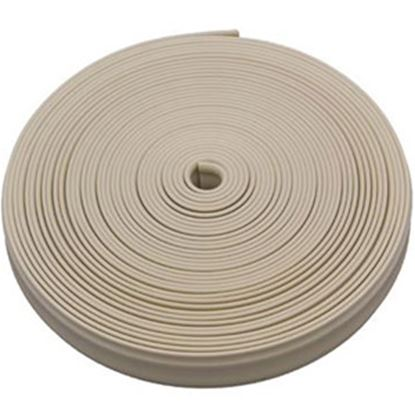 "Picture of AP Products  Colonial White Plastic 7/8""W X 25'L Trim Molding Insert 011-352 20-1373"