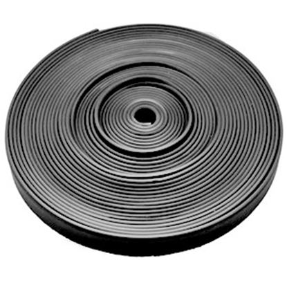 "Picture of AP Products  Black Plastic 5/8""W X 25'L Trim Molding Insert 011-367 20-1396"