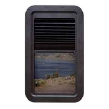 Picture of AP Products  Black Slim Shade (TM) Entry Door Window Complete Shade Unit 015-201512 20-1562
