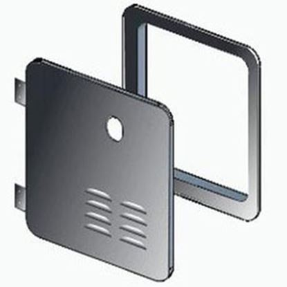 Picture of Girard  Black Water Heater Access Door For Atwood/ Suburban 2GWHDAS10B 20-2081