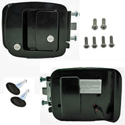 Picture of AP Products  Black Entry Door Lock 013-257 20-2084