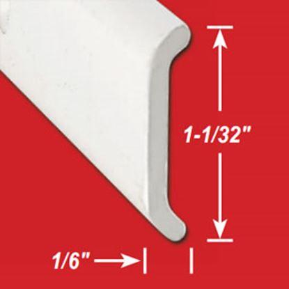 "Picture of AP Products  1-1/32""W x 1/6""T x 16'L Aluminum Flat Trim 021-87203-16 20-6909"
