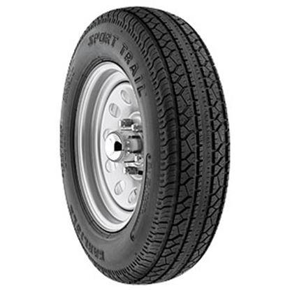Picture of Americana  Wheel/Tire, 5-Lug, ST205/75D15-C, Spoke, White 3S704 21-0045