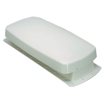 "Picture of Barker  Off White Plastic 22""L x 9-3/4""W Refrigerator Roof Vent 12603 22-0664"