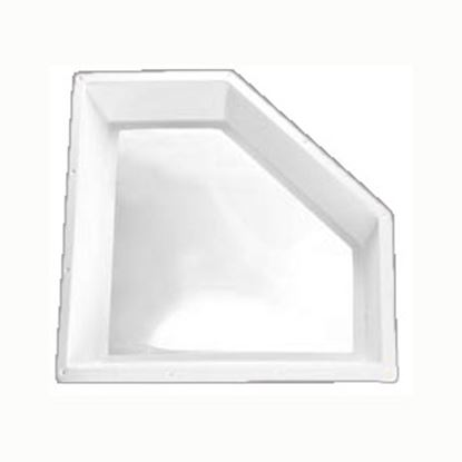 """Picture of Specialty Recreation  9""""H Bubble Dome Neo Angle White/ Clear Polycarbonate Skylight NN2810D 22-0720"""