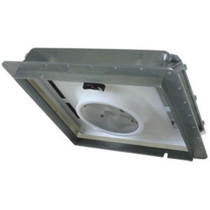 """Picture of Fan-Tastic Vent  Smoke 14""""x14"""" Roof Vent w/Fan 800601 22-2241"""