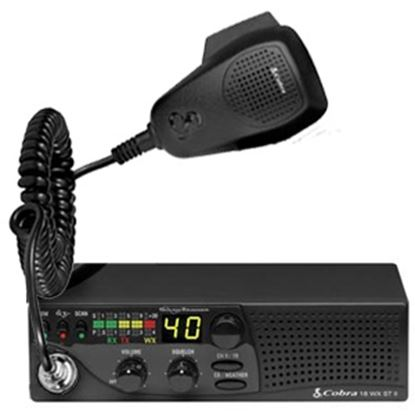 Picture of Cobra Electronics  Deluxe 40 Chanel CB Readio 18 WX ST II 24-0087
