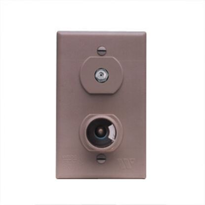 Picture of Winegard  Brown 12V & Cable Indoor Single Receptacle TG-7331 24-0880