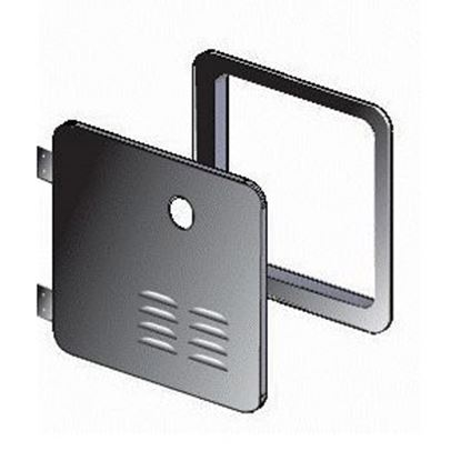 Picture of Girard GSWH-2 Black Access Door For Suburban 6 Gal Water Heater 2GWHDB 42-3254