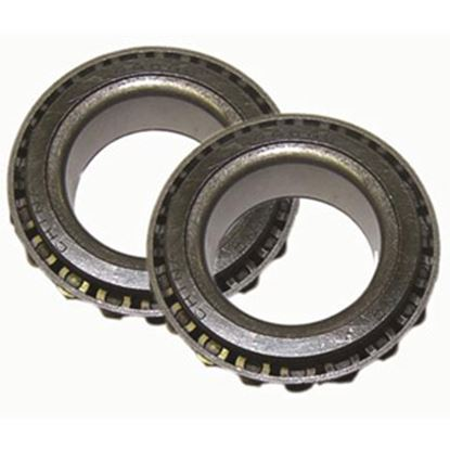 "Picture of AP Products  2-Pack Tapered Axle Bearing for 1"" OD Axles 014-181628-2 46-0861"