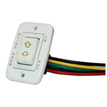 Picture of AP Products  White Rocker Slide Out Switch 014-117461 46-0886