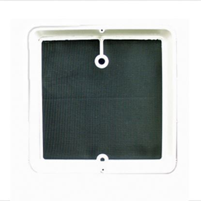 Picture of Heng's  White Roof Vent Screen Frame For Jensen JRP1124B 47-0180