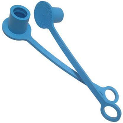Picture of MB Sturgis  Blue LP Hose Connector Cap 302004 66-7056