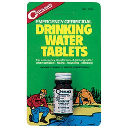 Picture of Coghlan's  50-Pack Iodine Based Drinking Water Purification Tablet 7620 69-0722