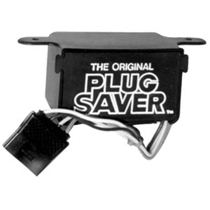 Picture of De-Bug Plug  Black Polypropylene Trailer Plug Cover PS 69-1311
