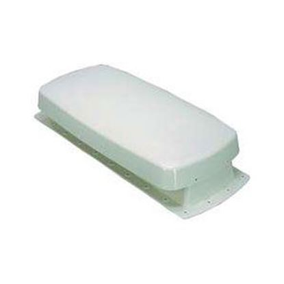 Picture of Barker  Colonial White Refrigerator Vent Base for Use w/ Cap #12604 12605 69-8456