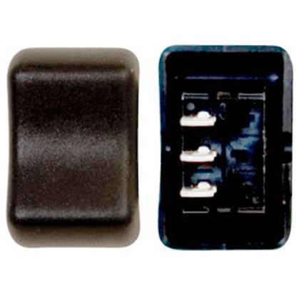 Picture of Diamond Group  Brown 125V/ 16A SPDT Rocker Switch For Water Heaters DG2F18VP 69-8787