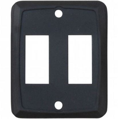 Picture of Diamond Group  3-Pack Black Double Opening Switch Plate Cover DG215PB 69-8865