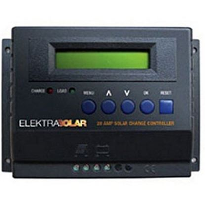 Picture of Elektra Solar  375W 25A Battery Charger Controller for 12/24V Solar Panel 60025 69-9702