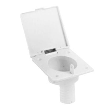 Picture of Zebra  Colonial White Fill Spout w/ Hinged Cover Fresh Water Inlet  71-0086