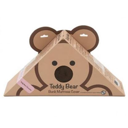 "Picture of Lippert Teddy Bear Bunk Series Chocolate PU Synthetic Fiber 28""X74""X4""D Bunk Mattress Protector 679284 71-5383"