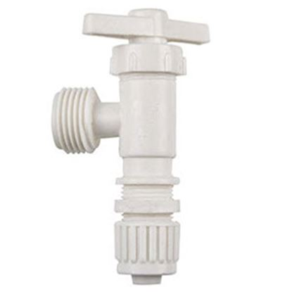 """Picture of Flair-It  1/2"""" MPT x 1/2"""" PEX Plastic Angle Stop Valve 16887 72-0811"""